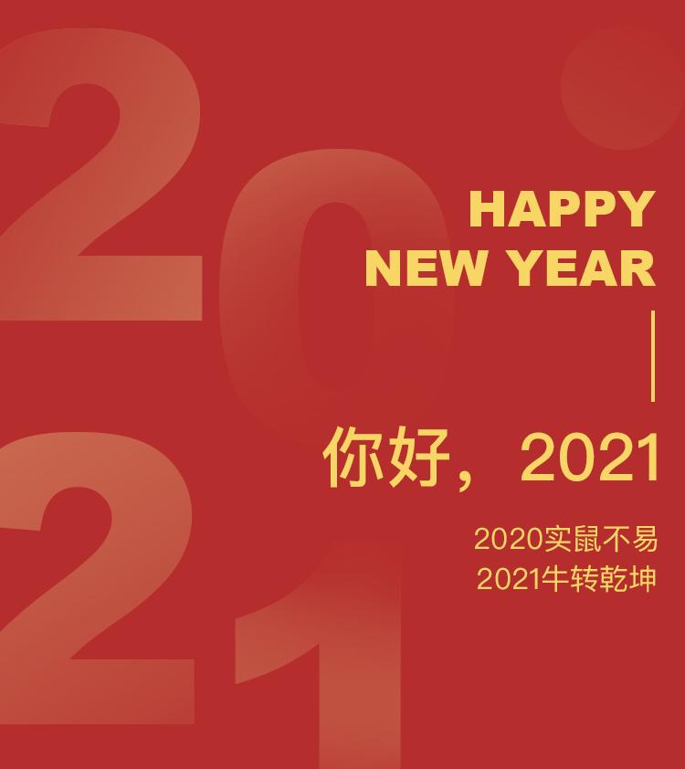 2021年元旦快乐,印萌喜迎元旦